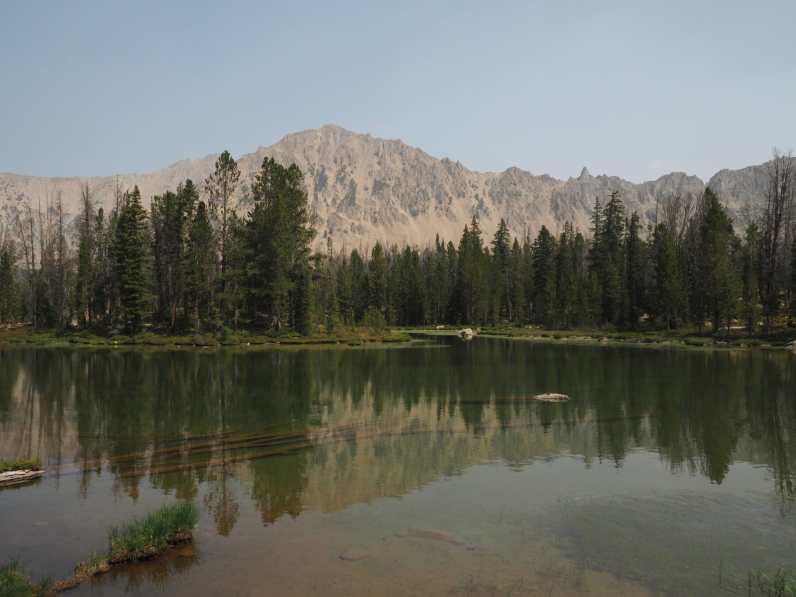 One of the Born Lakes, Antz Basin