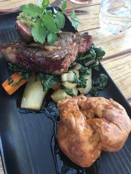 Steak, Redcliff Café