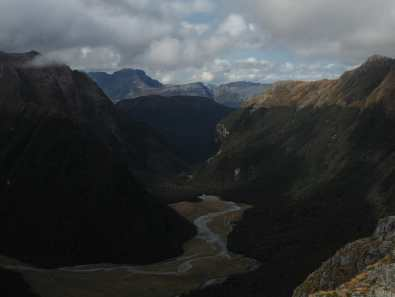 near Routeburn Falls Hut, Routeburn Track