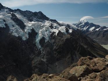 Glaciers and Aoraki