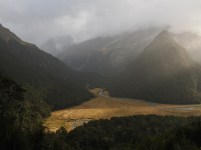 Routeburn River and the Routeburn North Fork