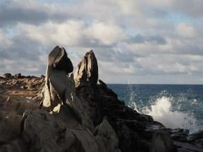 wave and Dragon's Teeth