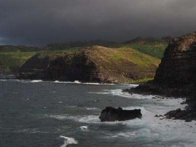 view from Nā-kālele point