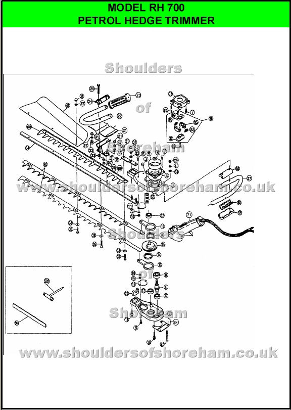 Stihl Trimmer Parts Diagram Click On Part Numbers Below