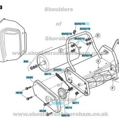 Qualcast Classic 35s Parts Diagram 98 Jeep Cherokee Wiring Electric 30 F016 313 042 Spares And Spare