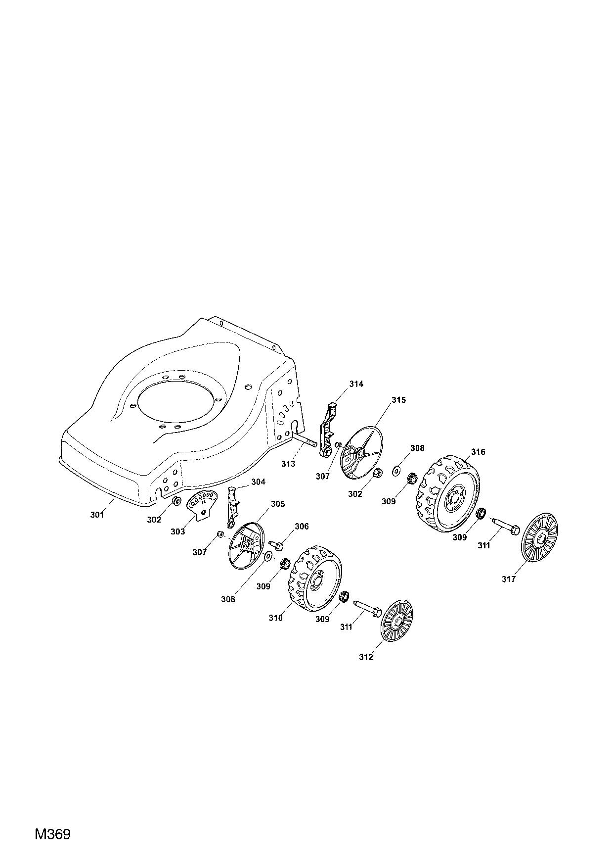 qualcast classic 35s parts diagram leaf anatomy mountfield pro 50 mac 2007 spare diagrams spares and