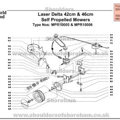Qualcast Classic 35s Parts Diagram Home Wiring Diagrams 3 Way Switches Mpr10005 Mpr10006 Mountfield Laser Delta 42cm And 46cm