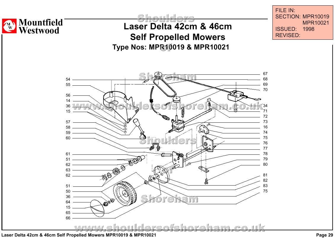 qualcast classic 35s parts diagram 1998 ford contour svt wiring mpr10019 mpr10021 mountfield laser delta 42cm and 46cm