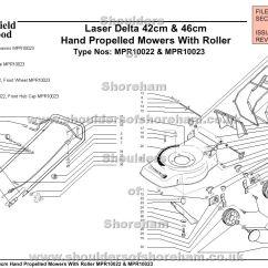 Qualcast Classic 35s Parts Diagram Refrigerator Components Mpr10022 Mpr10023 Mountfield Laser Delta 42cm And 46cm