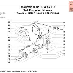 Qualcast Classic 35s Parts Diagram Hella Wiring Mountfield 42 Pd Lawnmower Spares Year 2000 2001