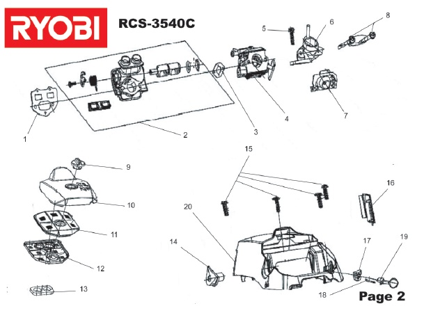 ryobi rh750 hedge trimmer spares diagram shoulders of shoreham