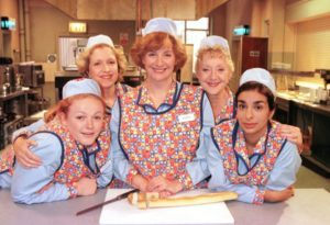 The cast of Dinnerladies n 1998