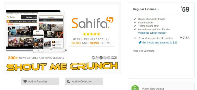 Sahifa Theme Review