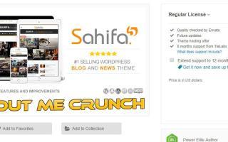 Sahifa Theme Review