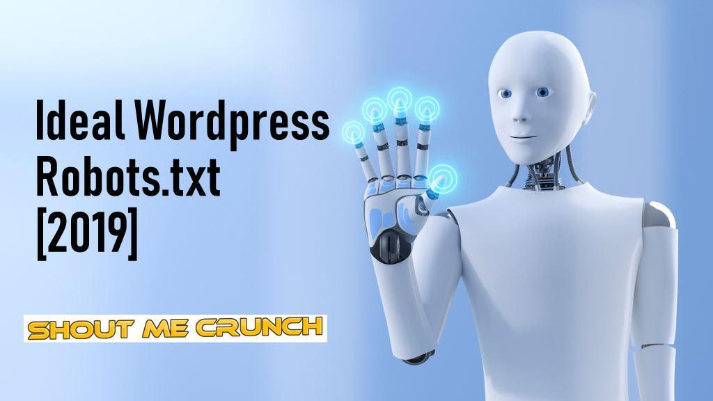 Ideal WordPress Robots.txt Example [2019]