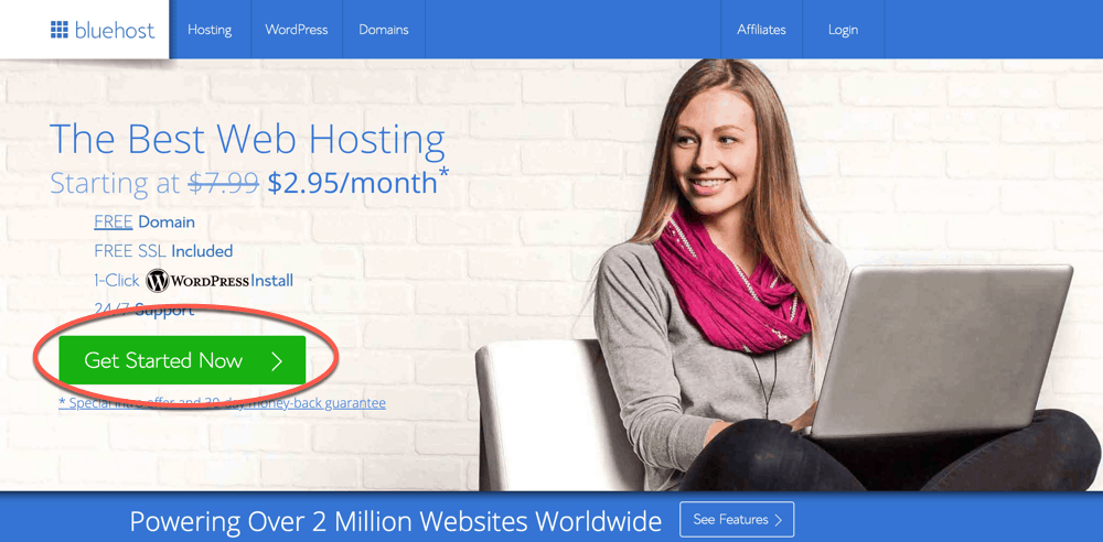 Bluehost: How To Start A Blog & Make $4734 Every Month from it by Harsh Agrawal