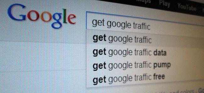 Gain Google traffic