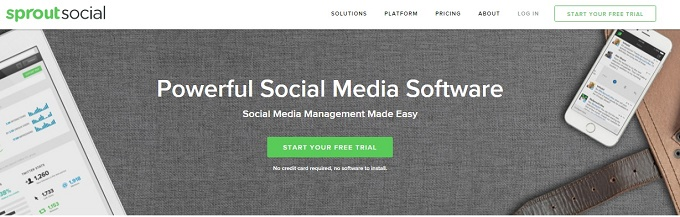 Sprout Social Social Media Management Software