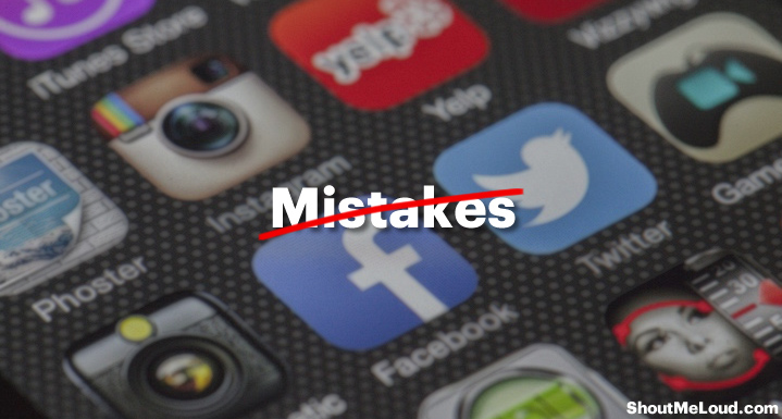 Image result for Mistakes committed by entrepreneurs on social media