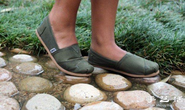 shoes for kitchen oak tables 帆布鞋改造 自己动手制作强力防水帆布鞋_手艺活网