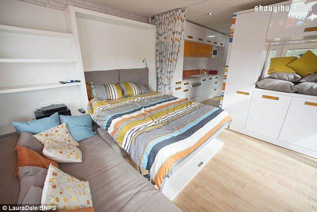 movable cabinets kitchen caddy 带电影院、餐厅、10间卧室的超大型房屋车_手艺活网