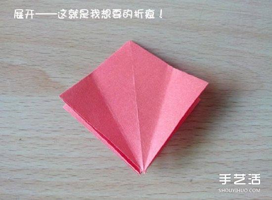 【 摺紙大全 】摺紙猥瑣鶴的方法圖解 猥瑣鶴的折法步驟圖| 摺紙鶴 | - 創意愛分享-