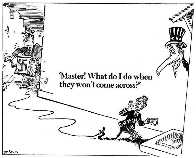 December 5th, 1941. 75 years ago today Dr. Seuss drew this
