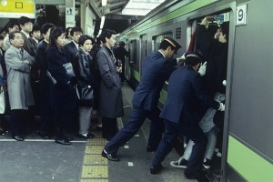 Tokyo Subway Pushers