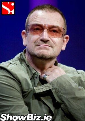 ShowBiz Ireland  Bono Rocks Jarhead Chic