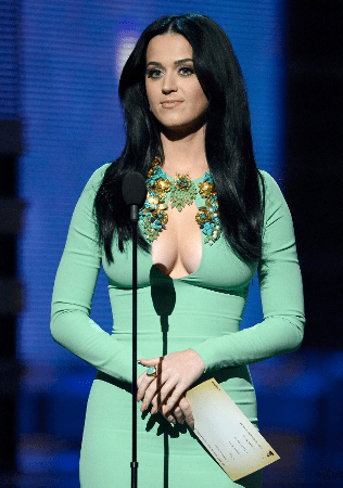 Katy at Grammys 2013 Awards Night