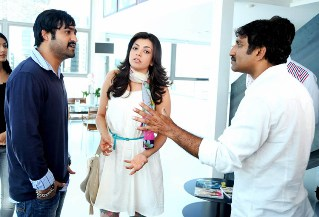 NTR Baadshah Movie Latest Working Stills, Kajal Agarwal in Baadshah Telugu Movie Working Stills Pics