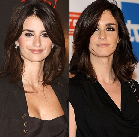Penelope Cruz and Paz Vega-showbizbites