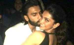 Ranveer Singh and Deepika Padukone Kiss at Their Secret Night-Out