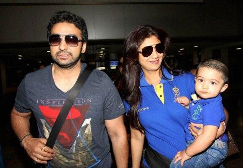 Shilp-Raj and Their Son