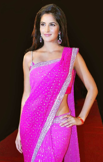 katrina in saree-showbizbites