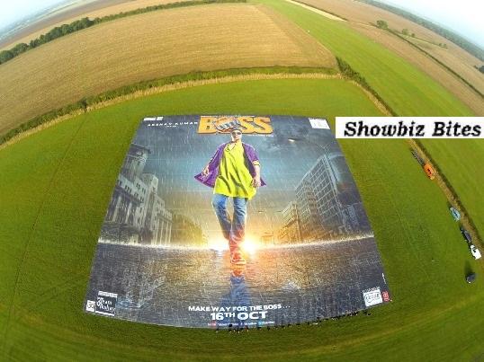 BOSS Guinness World Record Poster-Showbizbites