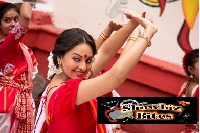 Sonakshi Sinha as a Bengali in Bullett Raja