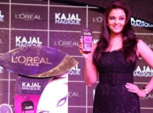 Aishwarya Rai and L'Oreal Paris Launch Kajal Magique