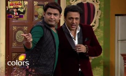 govinda on comedy nights-showbizbites