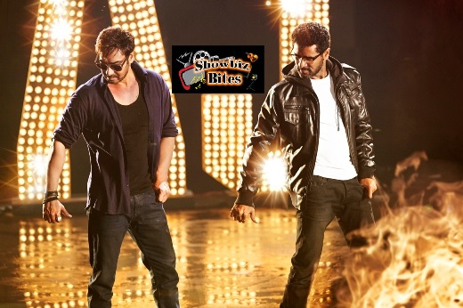 Ajay Devgn and Prabhudeva-showbizbites-01