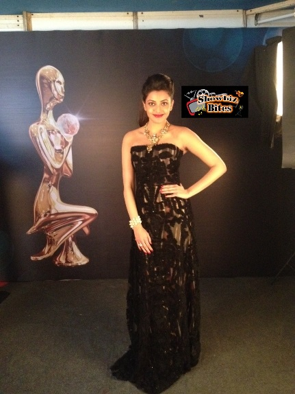 Kajal Aggarwal at Screen Awards-showbizbites