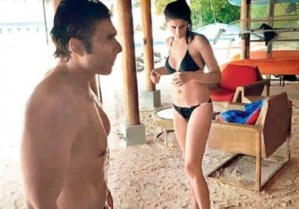 Nargis Fakhri and Uday Chopra Spotted Together on Exotic Beach in Maldives