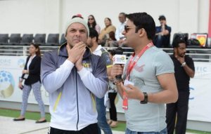 Salman Khan's Anger on Kapil Sharma at CCL 2014
