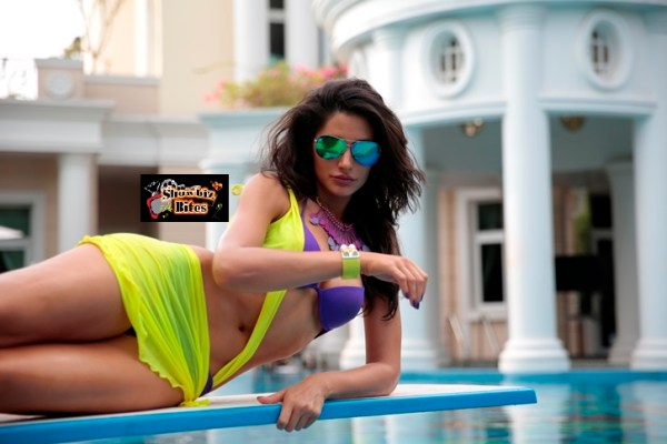 Nargis Fakhri in Bikini in Main Tera Hero-showbizbites