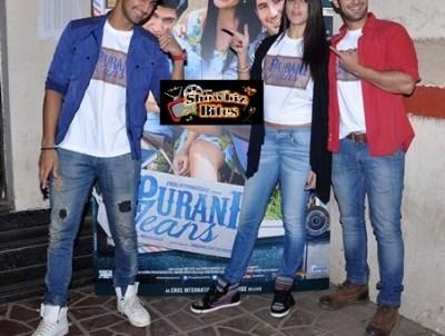 Puraani Jeans-Tanuj Virwani, Aditya Seal, Izabelle Leite-showbizbites-02