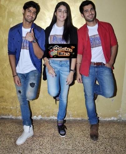Puraani Jeans-Tanuj Virwani, Aditya Seal, Izabelle Leite-showbizbites-03