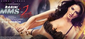 Pictures: Sunny Leone Poses in Much-Revealing Black Lacy Lingerie in Ragini MMS 2 New Poster