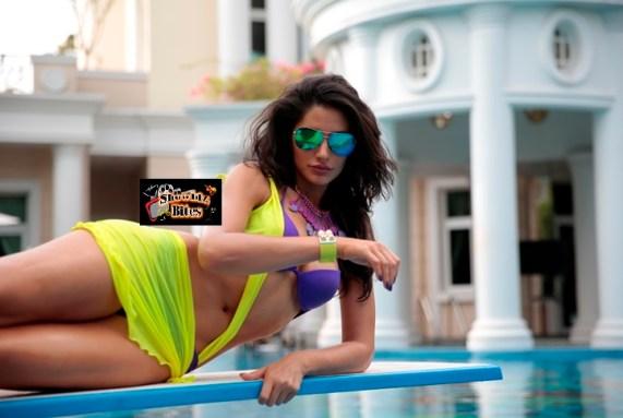 Nargis Fakhri in Bikini in Main Tera-01-showbizbites Hero
