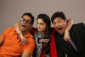 Anup Soni and Smita Bansal in a Comedy Play 'Hum Do Hamare Woh'