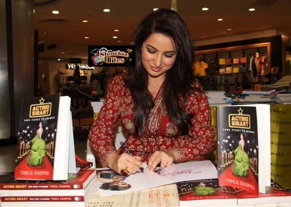 tisca chopra signs book-showbizbites-featured